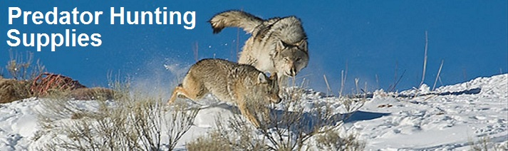 predator coyote hunting supplies banner image