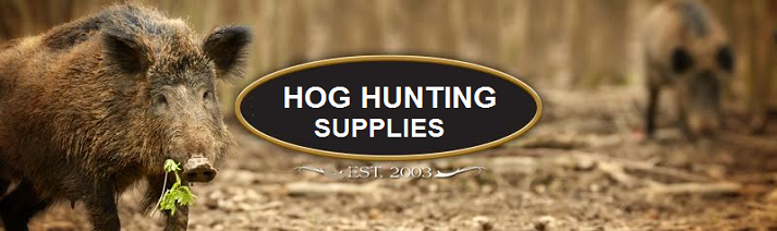 hog hunting supplies banner image