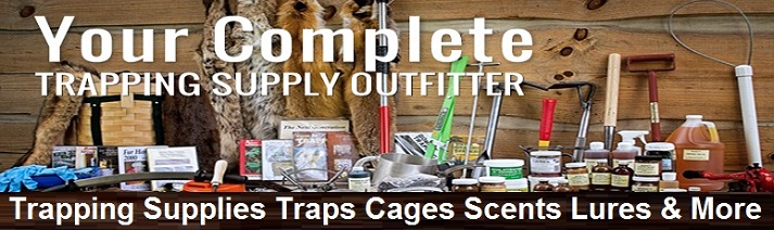 trapping supplies banner image